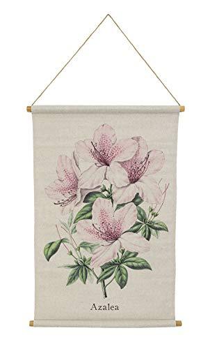 Habitat Azalea Linen Hanging Tapestry, Pink