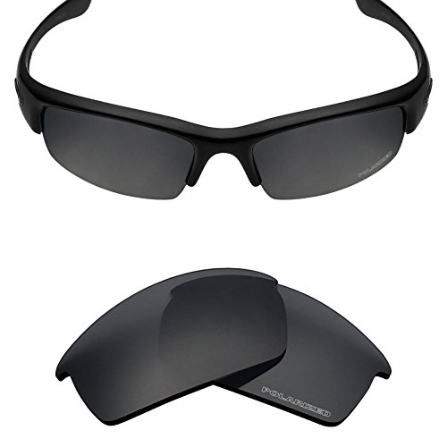 Mryok+ Polarized Replacement Lenses for Oakley Bottlecap - Stealth - Polarized Lenses Bottlecap Replacement Oakley