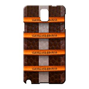 samsung note 3 Series Specially Durable phone Cases phone carrying skins cleveland browns nfl football