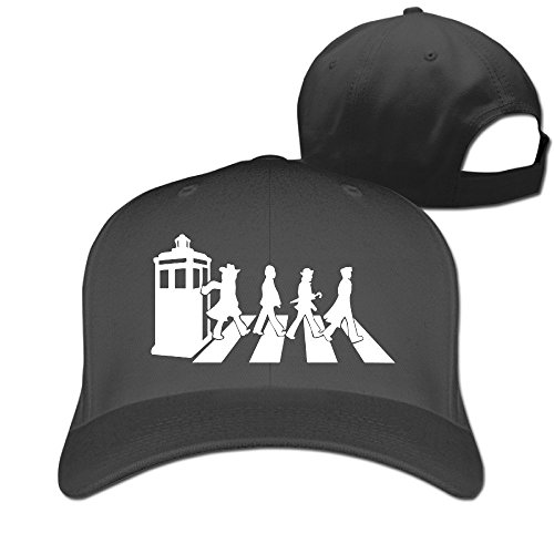 [MaNeg Doctor Who Adjustable Hunting Peak Hat & Cap] (Nike Atlanta Braves Light)