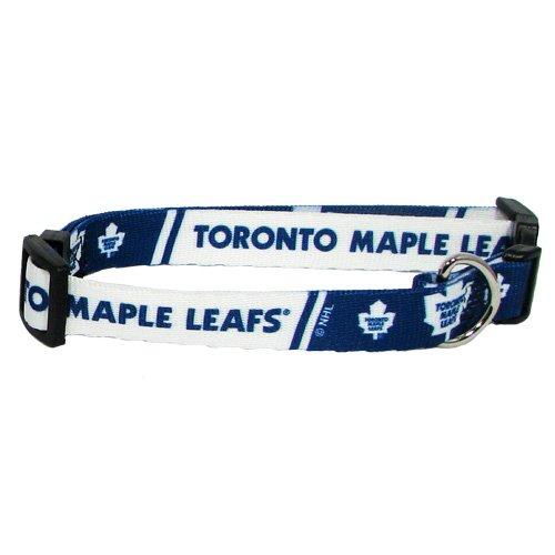 Hunter Mfg. LLP NHL Toronto Maple Leafs Adjustable Pet Collar, Team Color, X-Small