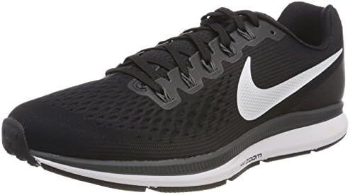 Nike Women s Air Zoom Pegasus 34 Running Shoe 5, Black White Dark Grey Anthracite