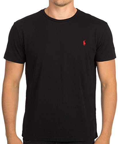 Polo Ralph Lauren Men's Crew Neck T-shirt (X-Large, Black)