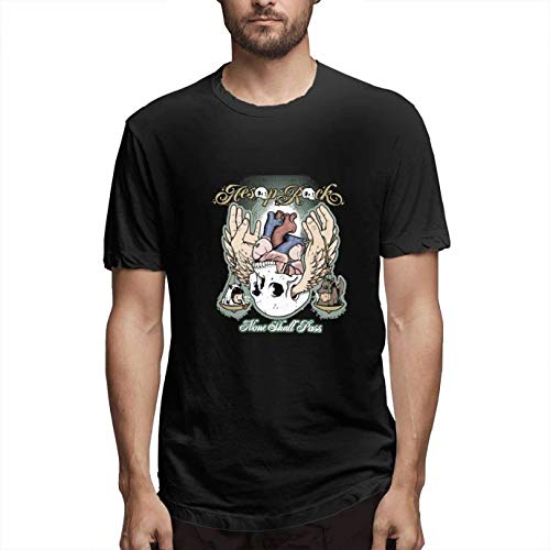 MiMooc Aesop Rock None 100% Cotton Shall T-Shirt for Men Black (Best Of Aesop Rock)