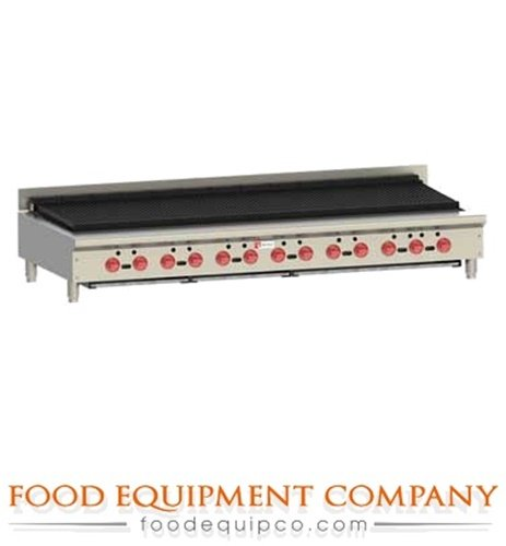 Achiever Charbroiler - Wolf ACB72 Achiever Charbroiler 72.5