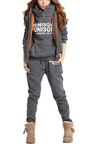 Eshion Womens Thickening Hoodies Tracksuit product image