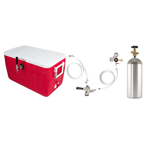 Single Faucet Coil Cooler Complete Kit by KegWorks