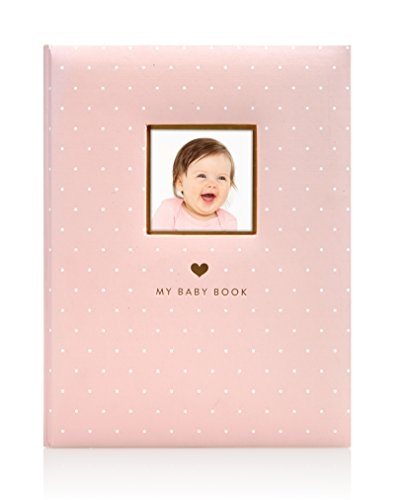 Little Blossoms Sweet Welcome Keepsake Babybook, Pink