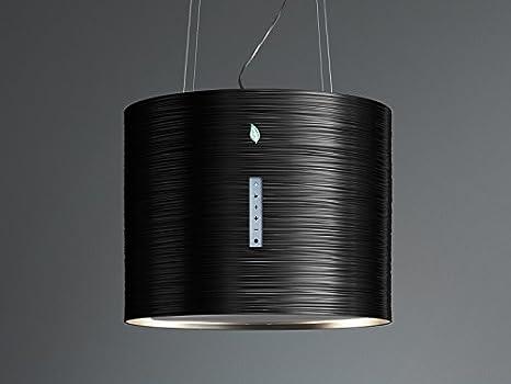Falmec E.Ion campana extractora de isla TWISTER-Negro