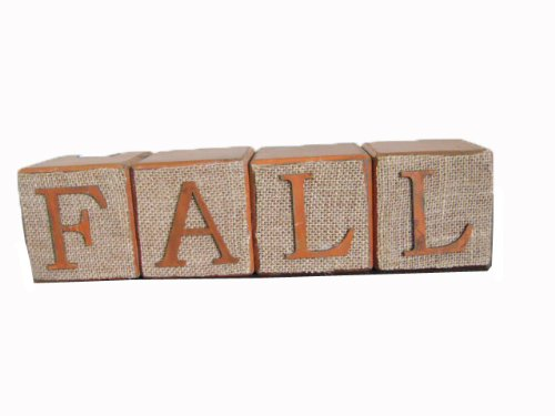 Craft Outlet Wooden Fall Blocks, 3.5-Inch ()