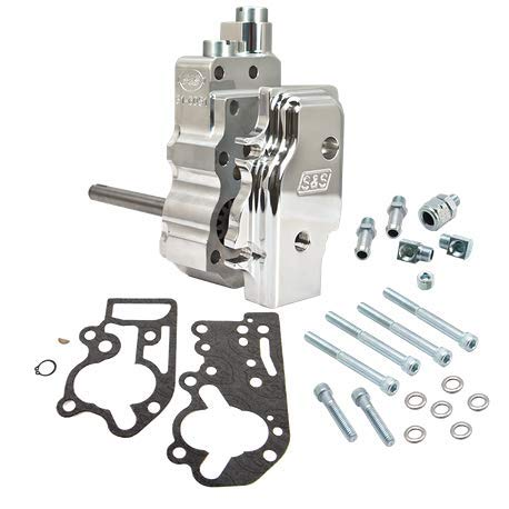 S&S Billet Stock Replacement Oil Pump for Harley Davidson 1992-99 Big Twin - Cam Twin Pump Oil