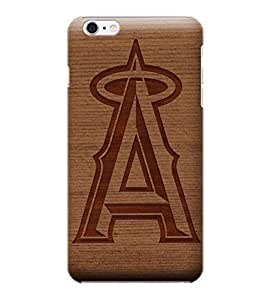 MLB-Los Angeles Angels Skin Tough Phone Case Covers,Stylish Protective Covers Compatible For iphone 6(4.7) by mcsharks
