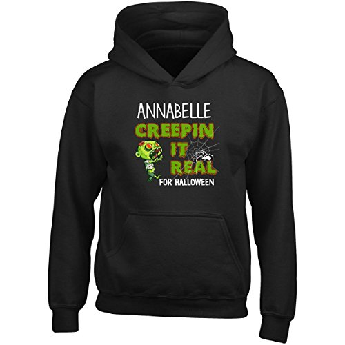 Costume For Annabelle Halloween (Annabelle Creepin It Real Funny Halloween Costume Gift - Girl Girls)