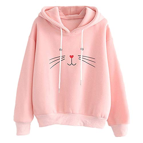Teen Girls Hoodie, Misaky Cat Ear Solid Long Sleeve for sale  Delivered anywhere in USA