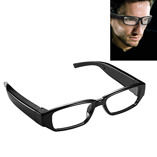 Glasses Sunglasses Camera -HD 19201080P Sunglasses Without Pinold DVR Video Recorder Indoor Covert Security Camcorder for Home and Office by FOCUSTECH