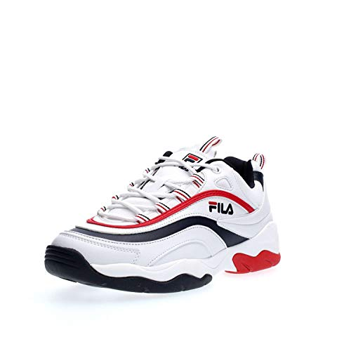 Fila White 1010578 Ray Sneakers F 01m Low Navy Man qFaTwqf