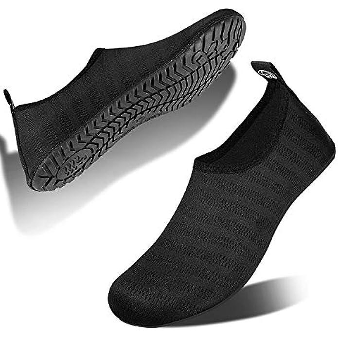 IceUnicorn Water Shoes Quick Dry Swim Aqua Barefoot Socks for Women