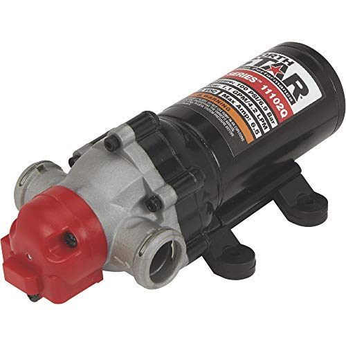 NorthStar NSQ Series 12V On-Demand High Pressure Sprayer Diaphragm Pump with Quick-Connect Ports - 1.1 GPM, 100 PSI