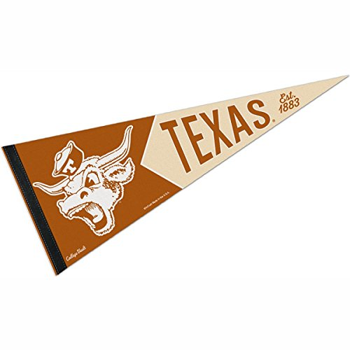 WinCraft Texas Longhorns Official NCAA 12 inch x 30 inch Premium Pennant by 993977