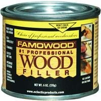 FamoWood 36141106 Original Wood Filler - 1/4 Pint, Birch by FamoWood