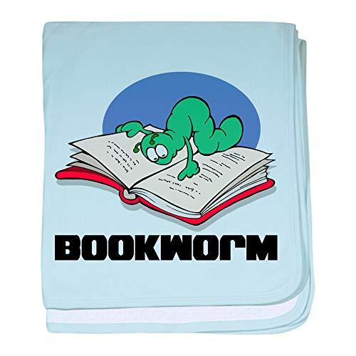 - CafePress Bookworm Book Lovers Baby Blanket, Super Soft Newborn Swaddle