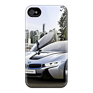 Excellent Hard Phone Cover For Apple Iphone 4/4s With Provide Private Custom Trendy Bmw I8 Image AlainTanielian