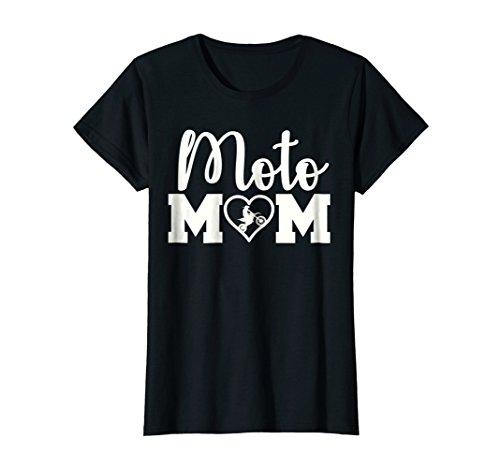 Womens Motocross Mom T-Shirt XL Black