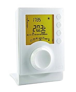 Delta dore tybox - Termostato programable radio tybox137 para calefacción: Amazon.es: Bricolaje y herramientas