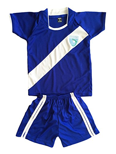 Kids Guatemala Jersey+Shorts Soccer/Football Blue (7-8 Years)