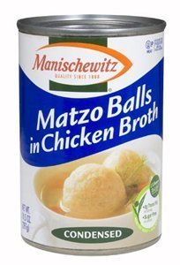 Manischewitz Matzo Balls in Chicken Broth 10.5 OZ (Pack of 6) by (Manischewitz Chicken Broth)