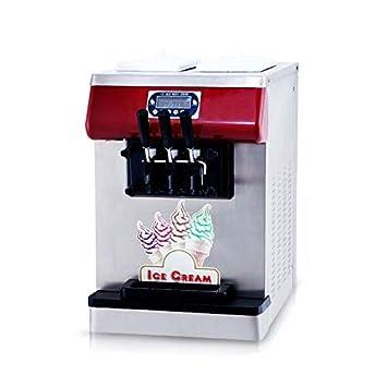 Envío gratuito a la puerta CE Certificado Mini encimera 3 sabores suave máquina de helado de