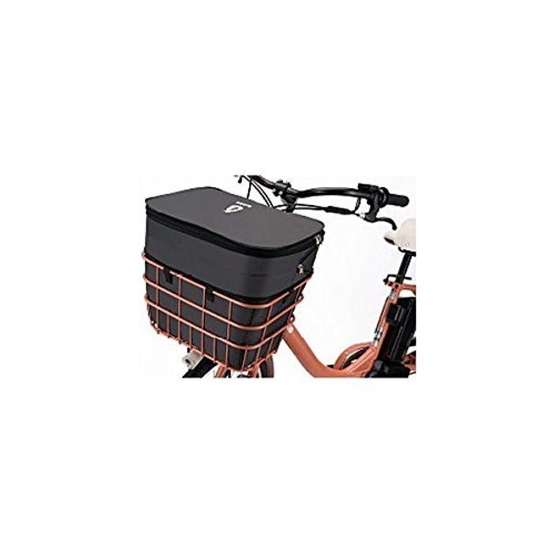東ティモール表面ワンダーsentan(センタン工業) 自転車用前カゴ 底でかーごメッシュワイヤー 取付金具付 GH-C430 ブラックメタル