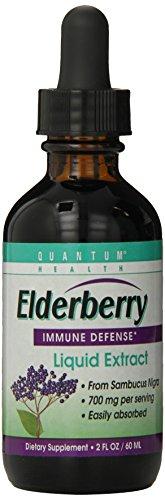 Quantum Elderberry Liquid Extract, 2 Fl Oz. (Pack of 12) ()