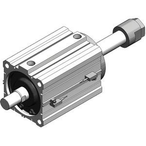 SMC CDQ2A80-75D-P5DWSC-XC35 cyl, compact w/scraper