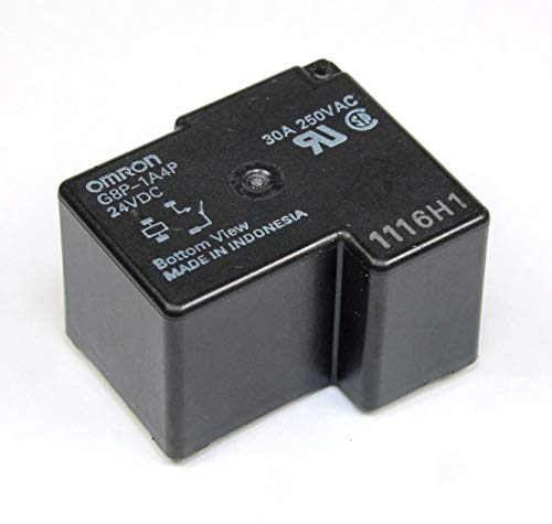 PC Board or Panel-Mounted 855AP-DC24V smseace Fully-Sealed PCB Relay 30A 250VAC ,Replaceable Relay G8P-1A4P-24VDC,Solve F01 Error Code on He5t Dryer