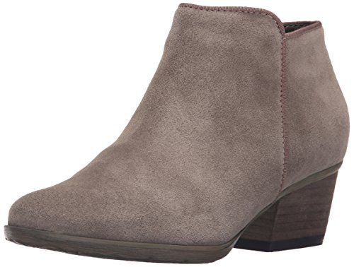 Blondo Women's Villa Waterproof Ankle Bootie, Mushroom Suede, 8 M US