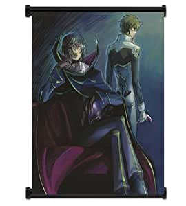"""Code Geass: Lelouch of the Rebellion Anime Fabric Wall Scroll Poster (32""""x38"""") Inches"""