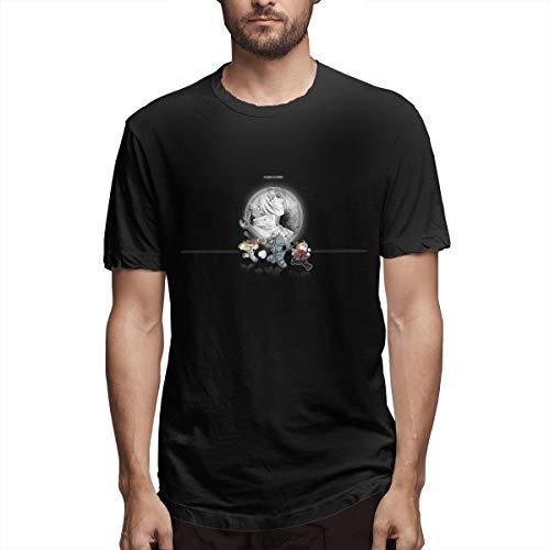 Fnh Fullmetal Alchemist Anime Poster Men's T-Shirts 4XL Black -