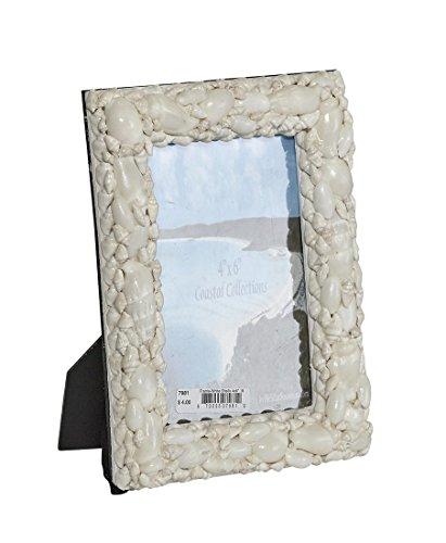 White Shells Photo Frame 4x6