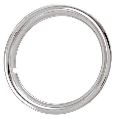 14'' Chrome plated steel universal trim rings for steel wheels