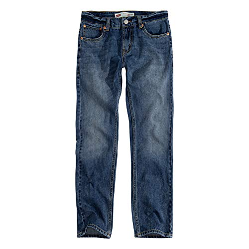 Levi's Boys' Big 502 Regular Fit Taper Jeans, Jumpshot, 16