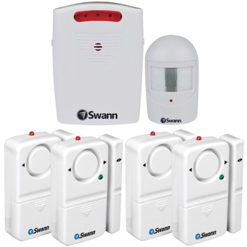 The BEST SWANN Kit Window And Door Alarm