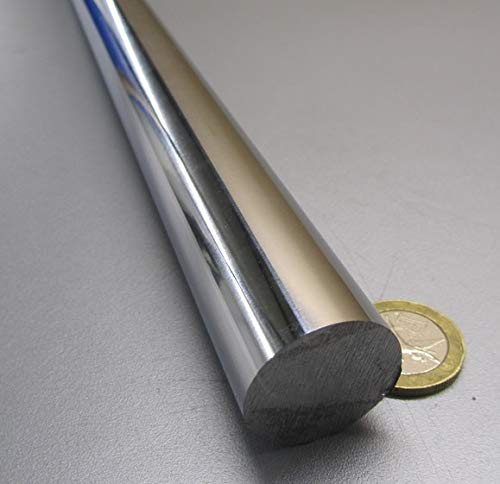 "1 Unit 1045 Steel Rod  1 1//8/"" Diameter x 3 Foot Length"