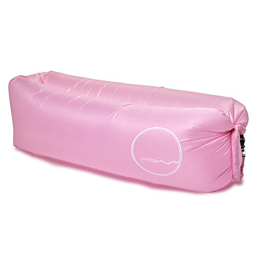 Hampton Slipcover (PERCH Brand Inflatable Lounger with LED Light (Pink))