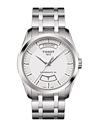 TISSOT MEN'S COUTURIER POWERMATIC-80 AUTOMATIC ANALOG WATCH T035.407.11.031.01