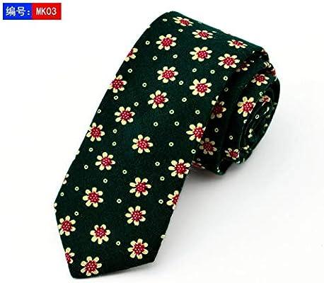 DYDONGWL Corbata Fina Hombre,Corbata de Moda Novio Corbatas de ...