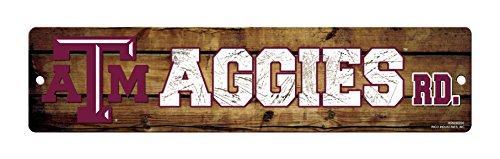 NCAA Texas A&M Aggies High-Res Plastic Street (Texas A&m Decor)