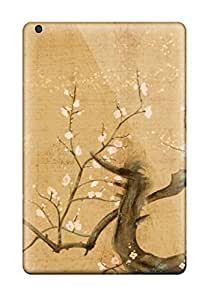 New Style Melissa Aubert Tree With Flowers Beautiful Branch Red Nature Flower Premium Tpu Cover Case For Ipad Mini/mini 2