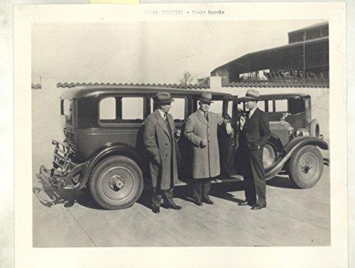 Washington Senators Baseball Photo - 1928 Packard Griffith Harris Washington Senators Baseball ORIGINAL Photo