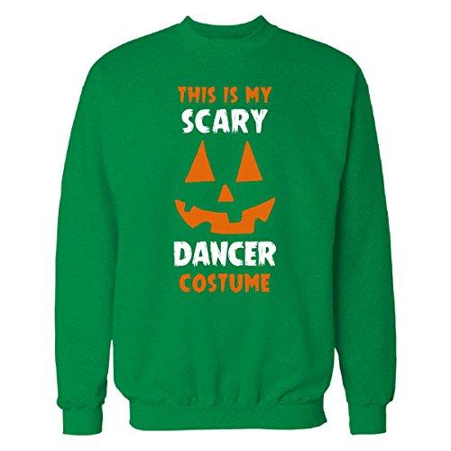 [This Is My Scary Dancer Costume Halloween Gift - Sweatshirt Irish_green 4XL] (Irish Dancer Costumes Halloween)